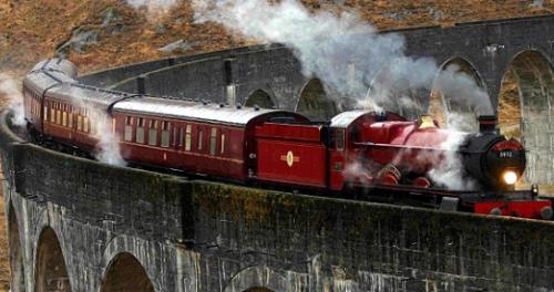 tren de harry potter, hogwarts express