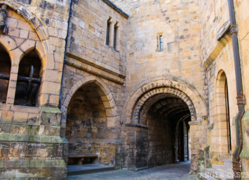 castillo de alnwick castillo de harry potter hogwarts, ¿dónde se encuentra el castillo de Harry Potter? ¿donde es hogwarts?