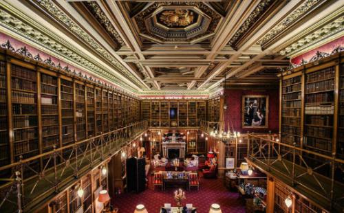 donde esta la biblioteca de hogwarts