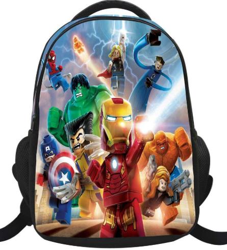 mochilas de superheroes originales para niños y niñas