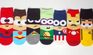 Calcetines Unisex Comics superheroes