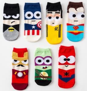 venta de calcetines de superheroes