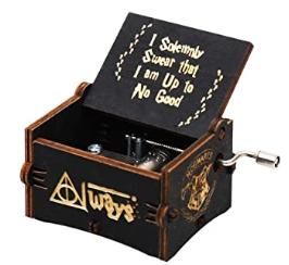Cajita de musica de harry potter, cajas de musica de Harry potter