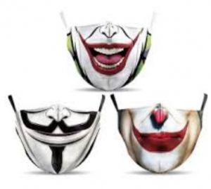 comprar mascarillas cubrebocas frikis y divertidas protectoras, mascarilla friki