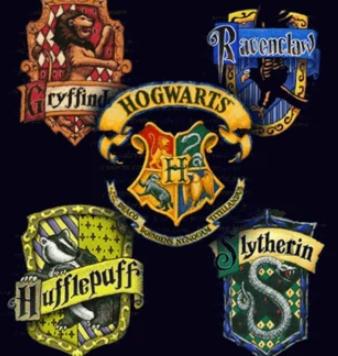 regalos merchandising cosas de las casas de hogwarts