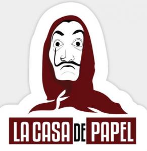 comprar regalos y productos con el logo de la casa de papel