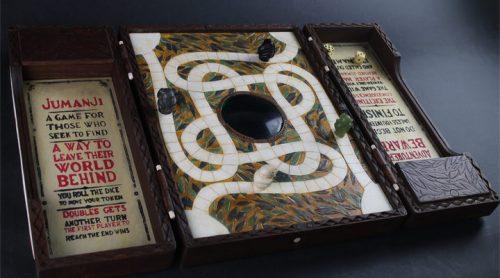 jumanji tablero original, juego de jumanji