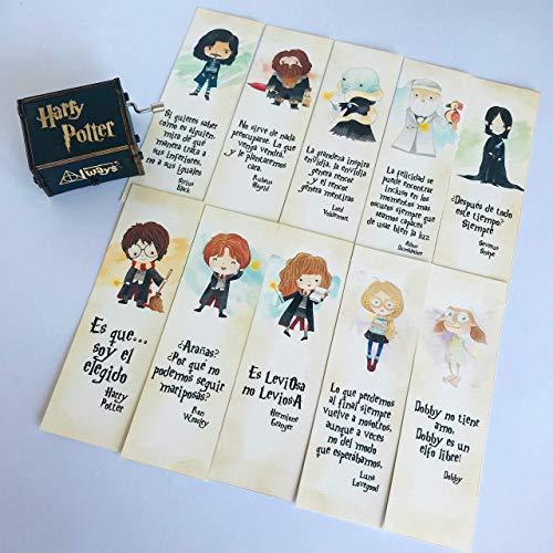 Marcapáginas de Harry Potter