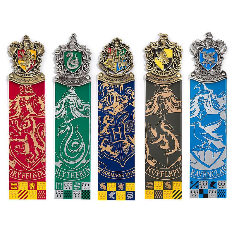 Imprimir marcapáginas de Harry Potter