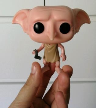 muñecos, figuras y funko pop de dobby harry potter