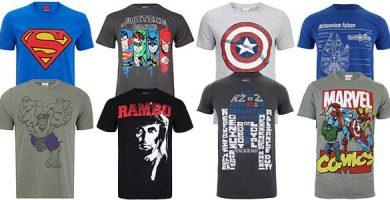 camisetas frikis 1 390x200 - Ropa Friki