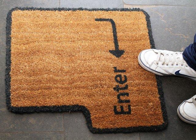 Alfombra friki felpudo de entrada felpudo friki alfombra original alfombra geek alfombra nerd