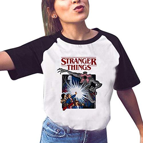 Camiseta Stranger Things Mujer camisetas de series de tv, camisetas de series