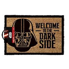 Alfombra de entrada a casa alfombra de entrada felpudo original felpudos frikis, felpudos de peliculas star wars