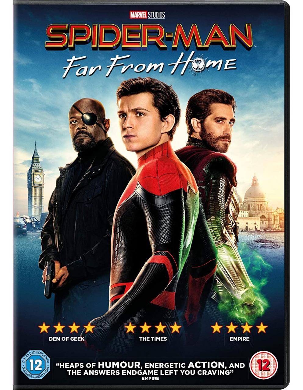 Spider-Man: Far from Home las mejores peliculas de super heroes