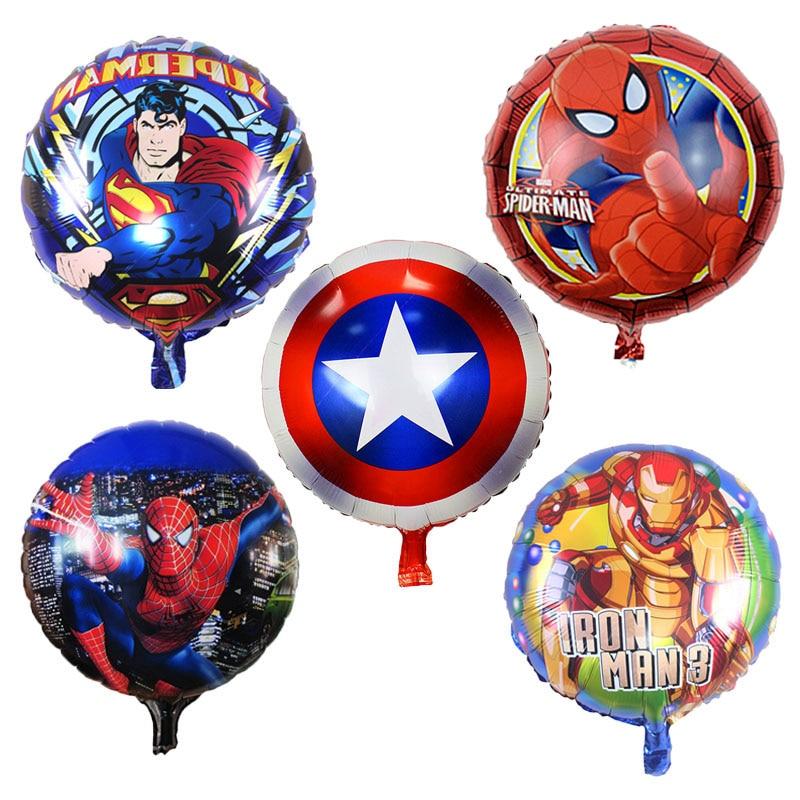 globos de superheroes marvel vengadores dc, decoracion de superhéroes con globos