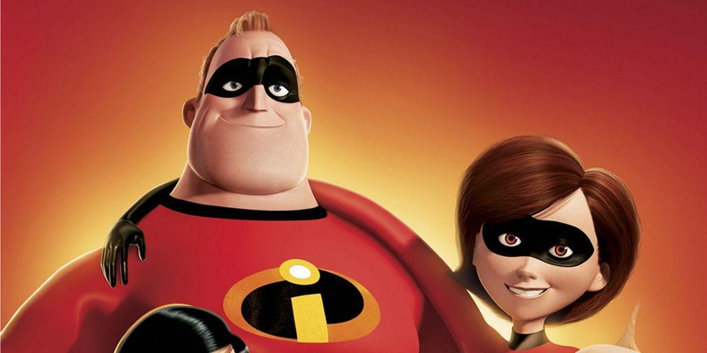 Los Increíbles las mejores peliculas de super heroes