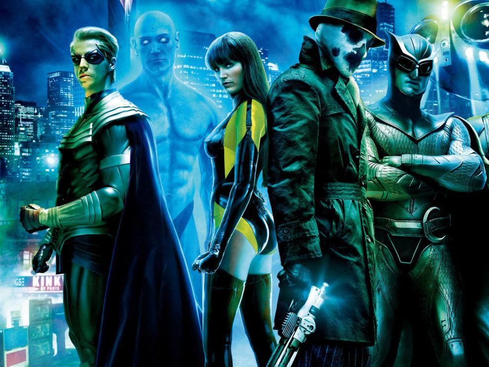 watchmen las 50 mejores películas de superhéroes dc