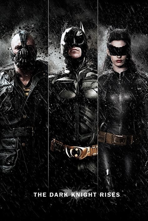 ? BATMAN DARK KNIGHT RISEStop 50 peliculas de superheroes