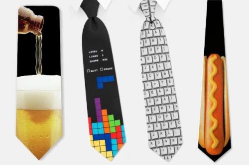 corbatas frikis divertidas, corbatas originales y graciosas