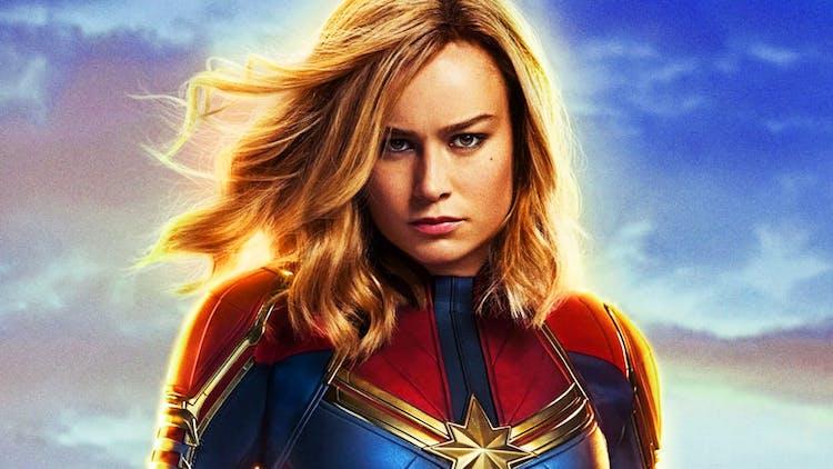 Captain Marvel las 50 mejores películas de los superhéroes