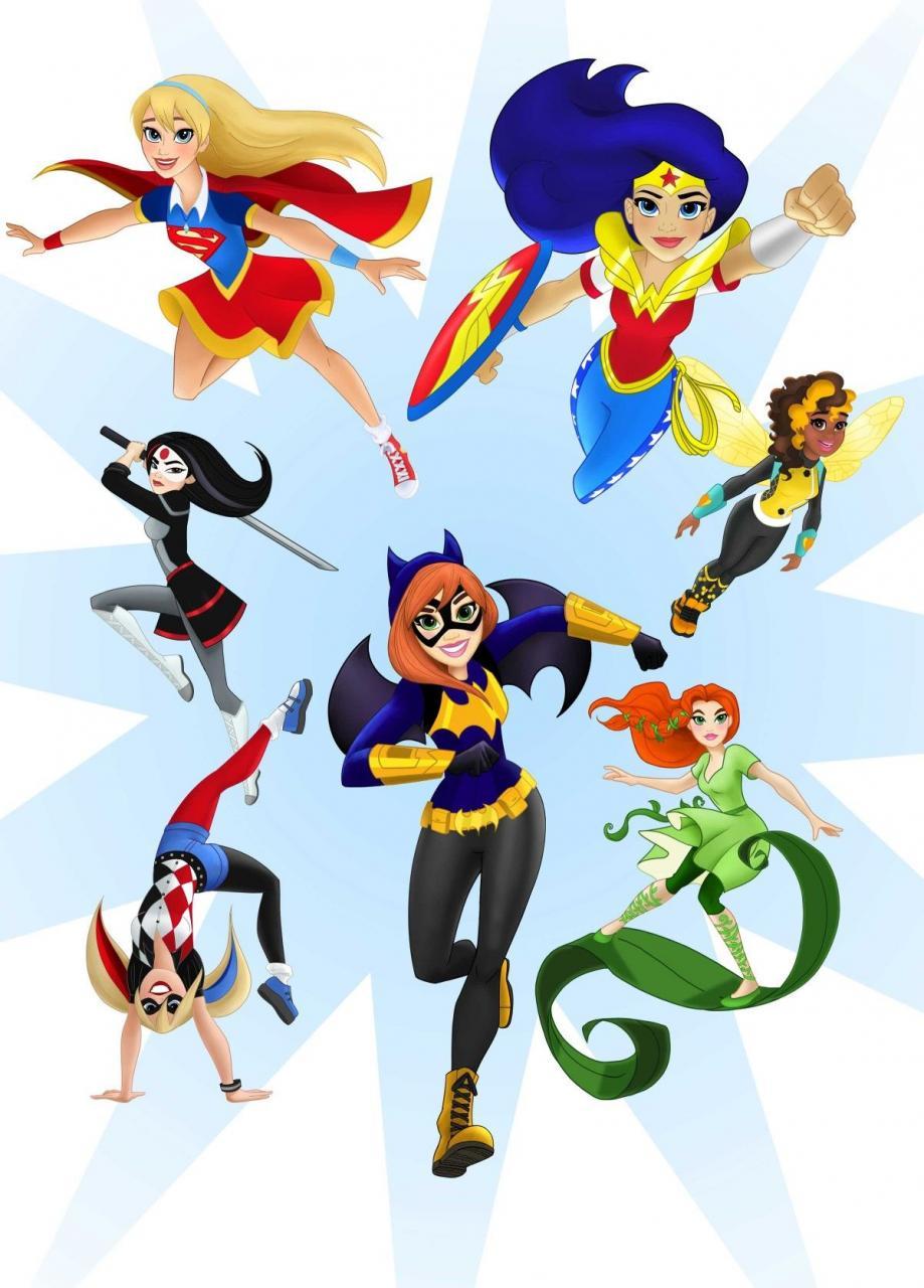 DC's Big Marketing Move: The Girls Win | Fiesta de superhéroes ...