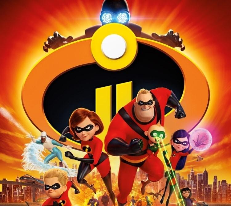 Los Increíbles 2 las 50 mejores películas de superhéroes disney