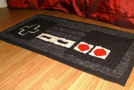 alfombras de habitacion alfombras frikis felpudo friki felpudos originales, alfombras originales