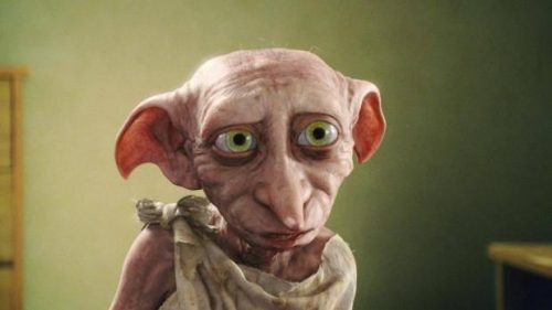 el elfo doméstico Dobby en Harry Potter