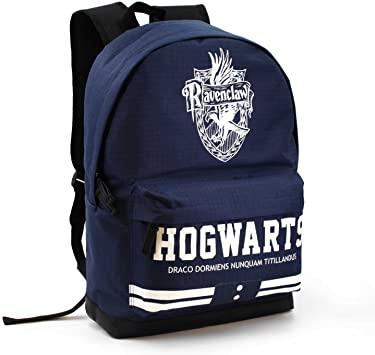 Harry Potter Ravenclaw Mochila Tipo Casual, 43 cm, 27  litros, Azul