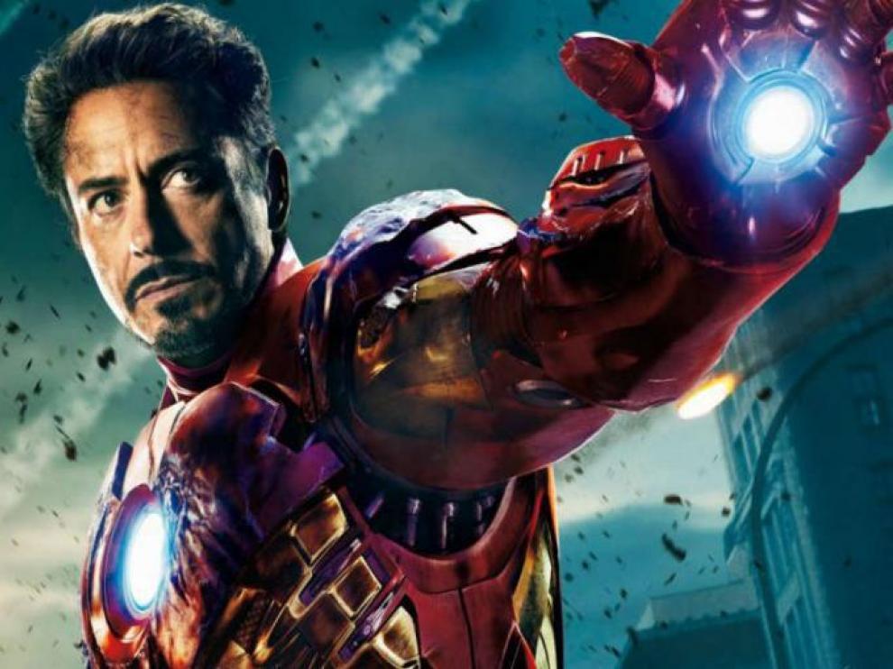 Iron Man la primera película de superheroes