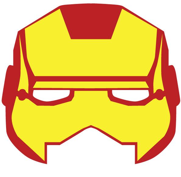 Máscaras y antifaces Imprimibles de Superhéroes para Fiestas - Fiestas y Cumples
