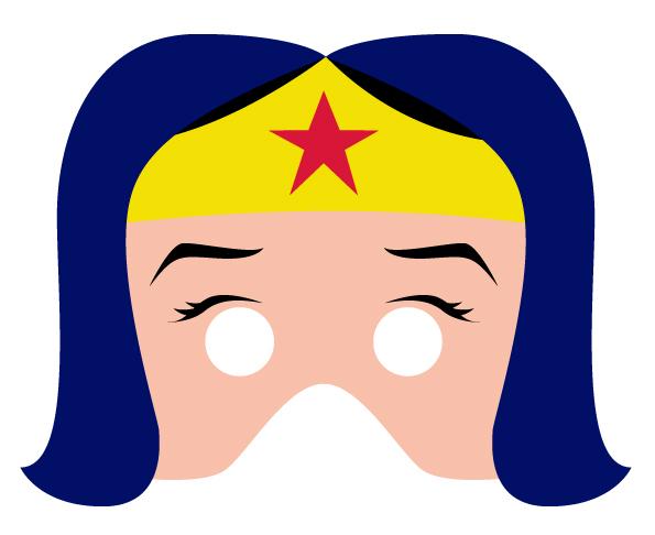 Máscaras Imprimibles de Superhéroes para Fiestas - Fiestas y Cumples