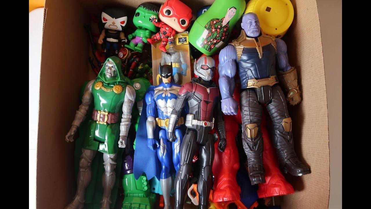 los mejores juguetes y muñecos de superheroes