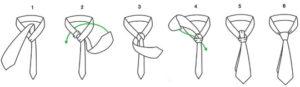 como hacer un nudo windsor ancho