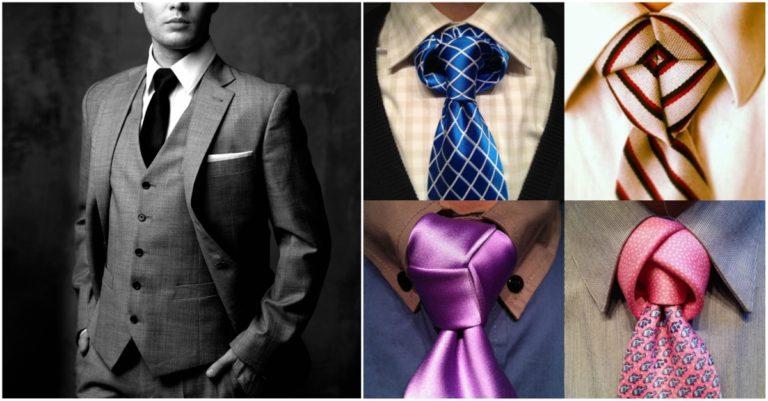 clases de nudos de corbata modernos