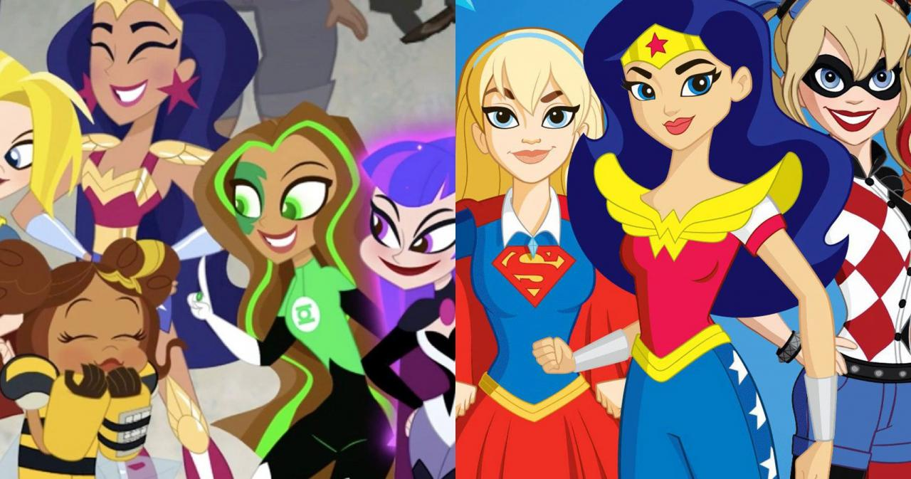 5 Reasons The New DC Super Hero Girls Is Better Than The Original ...