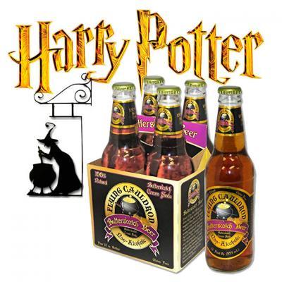 Botellas de Cerveza de Mantequilla, Harry Potter, Pack de 4