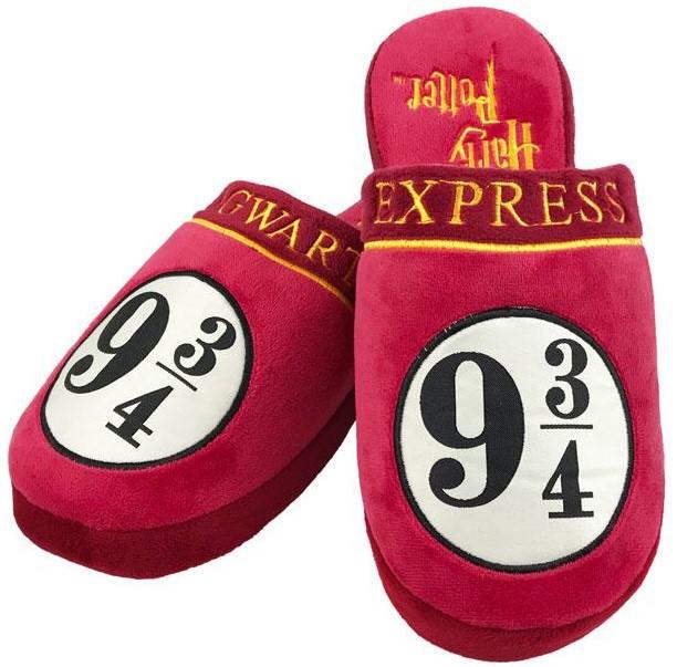 Zapatillas Harry Potter Andén 9 y 3/4, zapatillas harry potter niña para estar por casa