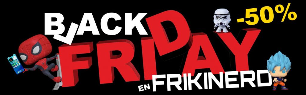 black friday frikinerd, compra regalos frikis en frikinerd en OFERTAS Black Friday