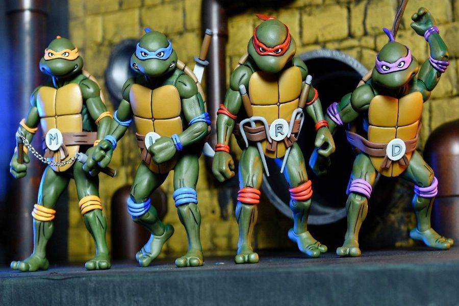 Figuras Tortugas Ninja originales