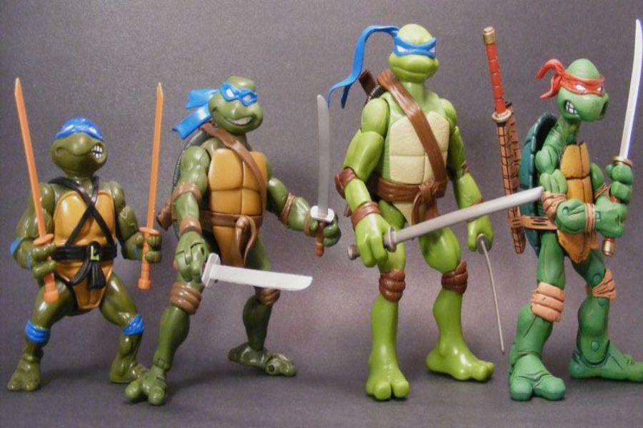 Figuras Tortugas Ninja reales