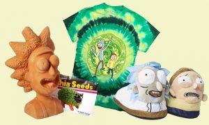 Merchandising Rick y Morty original