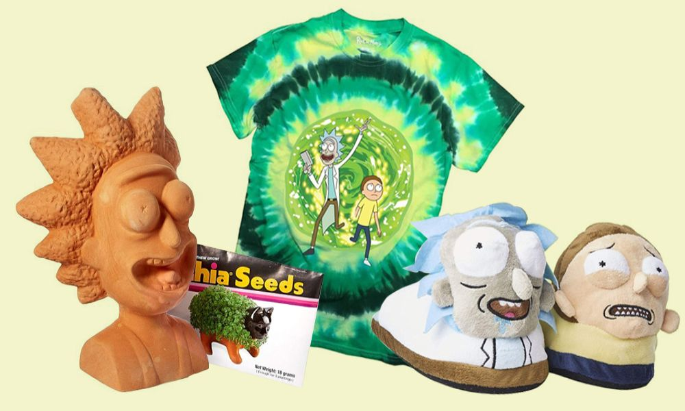 Merchandising Rick y Morty original
