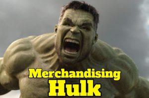 Merchandising hulk, juguetes, ropa, complementos, figuras