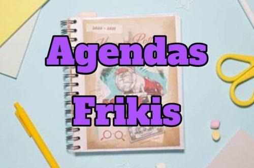 agendas frikis, comprar agenda friki original