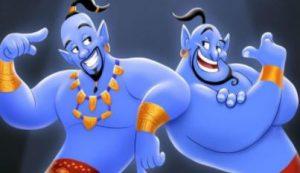 Juguetes del genio de Aladdin