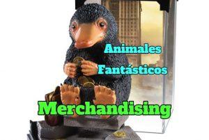 animales fantásticos merchandising, regalos figuras de animales fantasticos