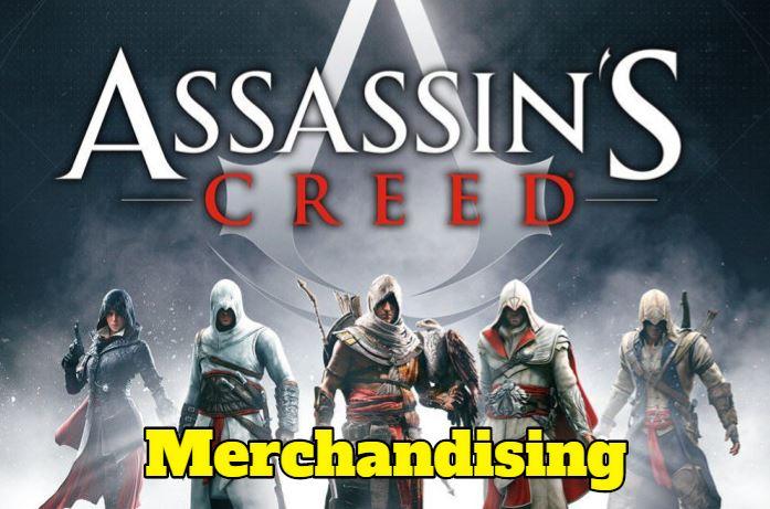 merchandising assassins creed disfraces, juegos accesorios, ropa