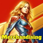 merchandising capitana marvel regalos captain marvel